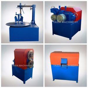 Automatic Used Waste Tire Recycling Shredder Crusher Cutter Grinder Rubber Cutting Machine pictures & photos