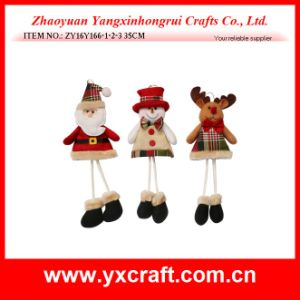 Christmas Decoration (ZY16Y166-1-2-3 35CM) Promotional Christmas Ornaments Christmas Season pictures & photos