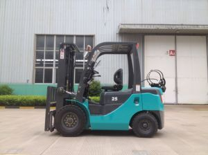 2.5ton LPG & Gasoline Forklift Truck pictures & photos