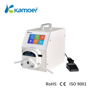 Kamoer Peristaltic Pump with Stepper Motor, High Accuracy / Accuracy, High Flow Rate, Support Foot Switch, Food Safe, Touch Screen