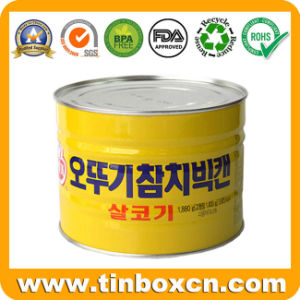 Tin Can for Food Canning Fish Caviar Tuna Salmon pictures & photos