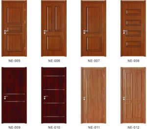 Hot Sale High Quality PVC Wood Door with Fashion Design Sw-043 pictures & photos