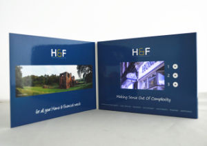 Custom 5inch LCD Screen Video Postcard pictures & photos