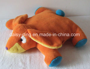 Plush Folded Lion Character Cushion with Soft Material pictures & photos