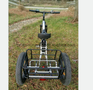 500W Electric Scooter Bicycle with Cargo pictures & photos