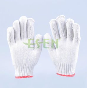 Rigger Construction Cotton Knitted Work Gloves pictures & photos