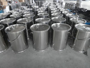 Stainless Steel Milking Pail 20L-30L pictures & photos