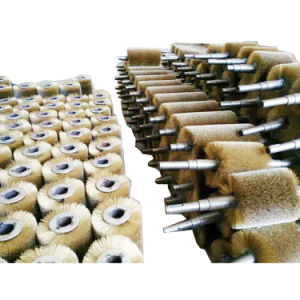 Heavy Duty Wire Roller Brush for Polishing pictures & photos