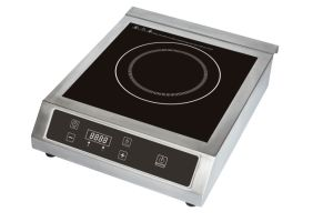 3500W Restaurant Use Stainless Steel Commercial Induction Cooktop for India Market pictures & photos