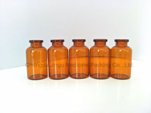 20ml Low Borosilicate Amber Glass Vial/ Bottle for Medical Packaging pictures & photos