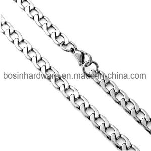 Stainless Steel Long Flat Curb Chain pictures & photos