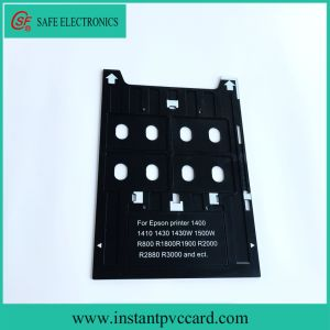 Plastic PVC Card Tray for Epson R1900 Inkjet Printers pictures & photos