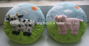 Stuffed Round Pig Pillow with Soft Materiall pictures & photos