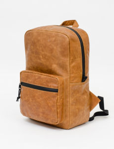 PU Leather Backpack with Carbon Lining pictures & photos