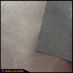 Pigskin Microfiber PU Leather for Shoes Lining Hx-Ml1702