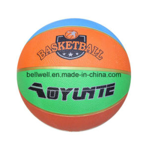 Custom Logo Junior Size 3 Rubber Basketball pictures & photos
