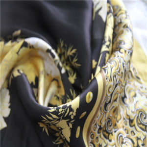 Silk Satin with Digital Printing for Women Dress pictures & photos