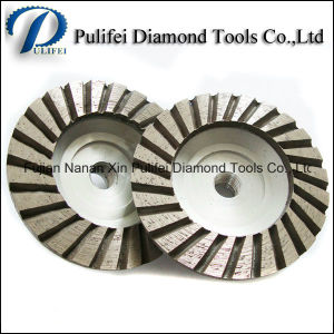 Turbo Segment Diamond Grinding Cup Wheel for Concrete Floor Hand Grinder