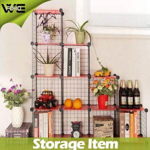 Superieur Multifunction DIY Storage Cube Steel Metal Unit Wire Storage Shelves