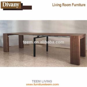 Wooden Transformer Extendable Dining Table, Expands From Console Table To  Large Dining Table With Seating 10