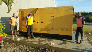 China 50Hz 100kVA Soundproof Diesel Generator with Cummins Engine pictures & photos