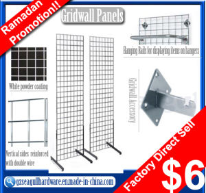 2014 Hot Selling Factory Price Store Fixtures Gridwall Panels
