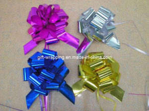 Metallic Pop Pop Bow