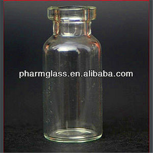 2ml Clear Injection Vials Made of Low Borosilicate Glass Tubing