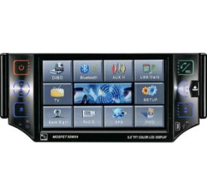 Single-Din 4.3′′ Car DVD Player With All-In-One Function (GP-4302)