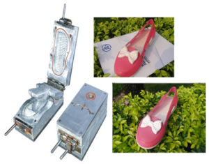 EVA Injection Shoe Mould Making for Lady