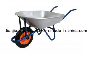 78L Solid Wheel Steel Tray Wheelbarrow (WB7500) pictures & photos