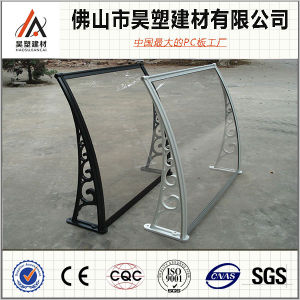 Factory Price Customizable Aluminum Frame Outdoor Decoration Polycarbonate Awning