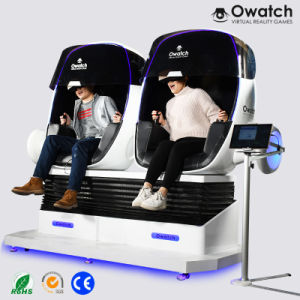 06697c4f2417 Amusement Park Rides Two Seats 9d Robot Vr Cinema 9d Virtual Reality  Simulator Arcade Game Machine