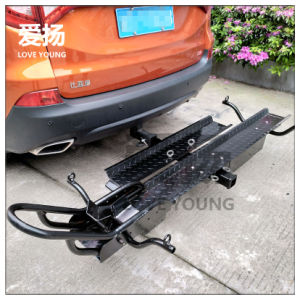 Trailer Hitch Motorcycle Carrier >> Heavy Duty Hitch Mount Motorcycle Carrier Car Rear Motorbike Rack