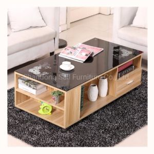 China Custom Luxury Glass Top Coffee Table China Luxury Coffee Table Glass Top Coffee Table