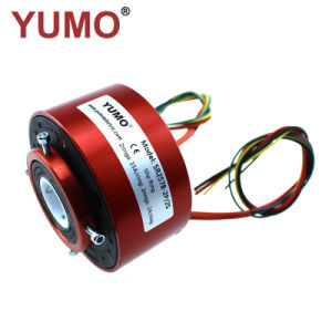 3 Wires 15A//6 Wires 15A High current slip ring Conductive slip ring
