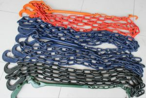 Alloy Steel Hot Dipped Galvanized/Painted, etc Lashing Chain