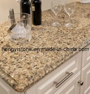 Brazlian Gold Granite Prefabricated Granite Countertops Lowes