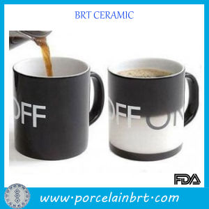 Personalized off-to-on Ceramic Custom Magic Color Changing Mug