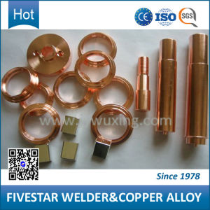 Copper Alloy Welding Parts with High Conductivity pictures & photos