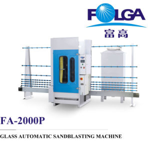 2000p Glass Automatic Sandblasting Machine