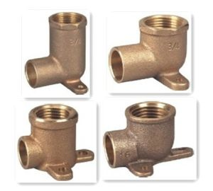 Lead Free Bronze Wallplate Elbow pictures & photos