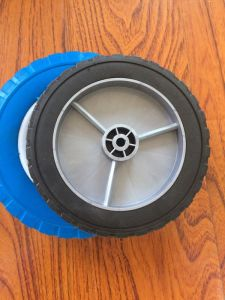 "8""X1.5"" Plastic Rim Solid Wheel"