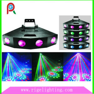 Professional Four Heads LED Moon Flower Effect Light for KTV Disco DJ Bar Club pictures & photos
