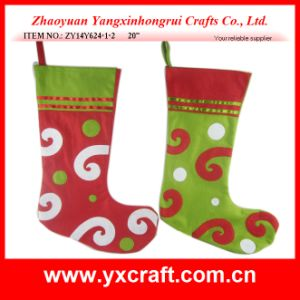 Christmas Decoration (ZY14Y624-1-2 20′′) Christmas Wish Sock Memory pictures & photos