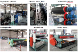 PP Micro Foam Sheet Extruding Machine Stationery Folder Sheet Extrusion Line Machinery pictures & photos