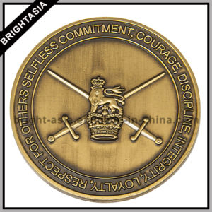 Challenge Coin/ Military Coin/ Metal Coin with 3D Design (BYH-10805) pictures & photos
