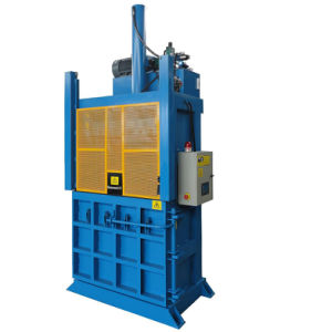 Vertical Baler of Waste Cardboard