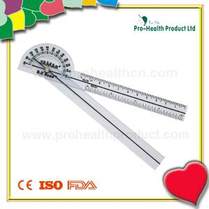 Convenient Use Medical Plastic Goniometer pictures & photos