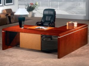 China Fashion Modern Design L Shaped Office Director Table Set